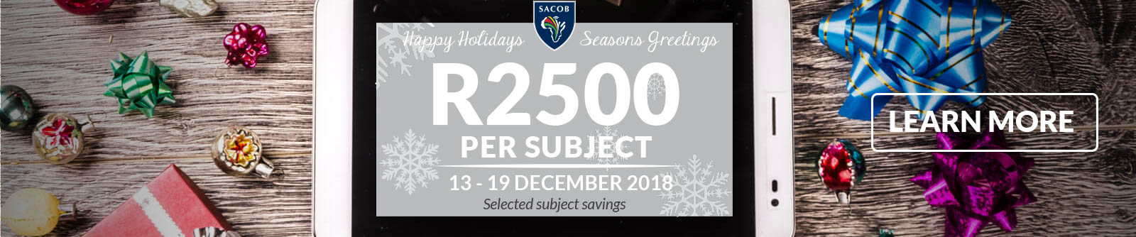 2018 Holiday Promotion